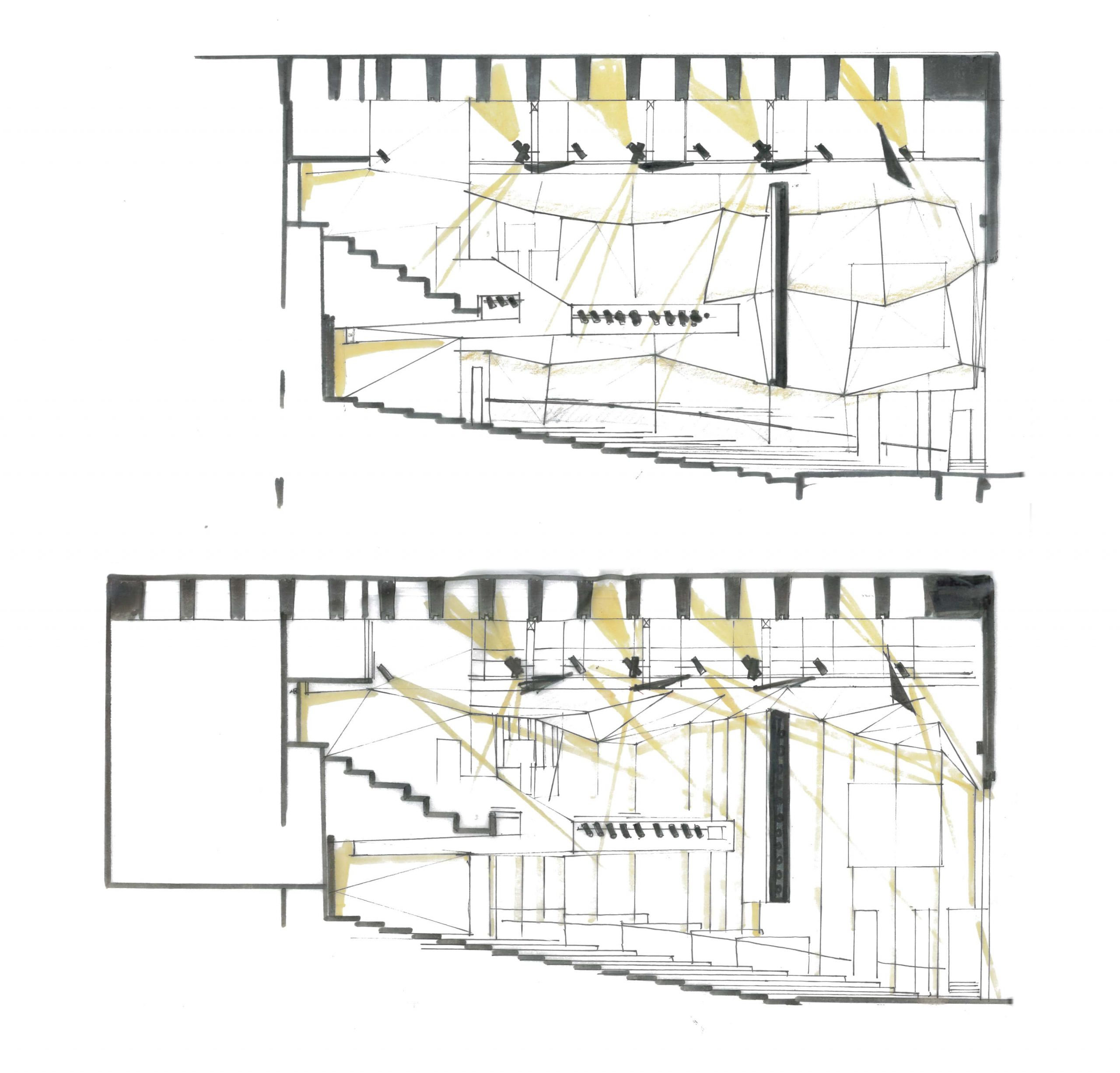 Long Theatre Section Sketch