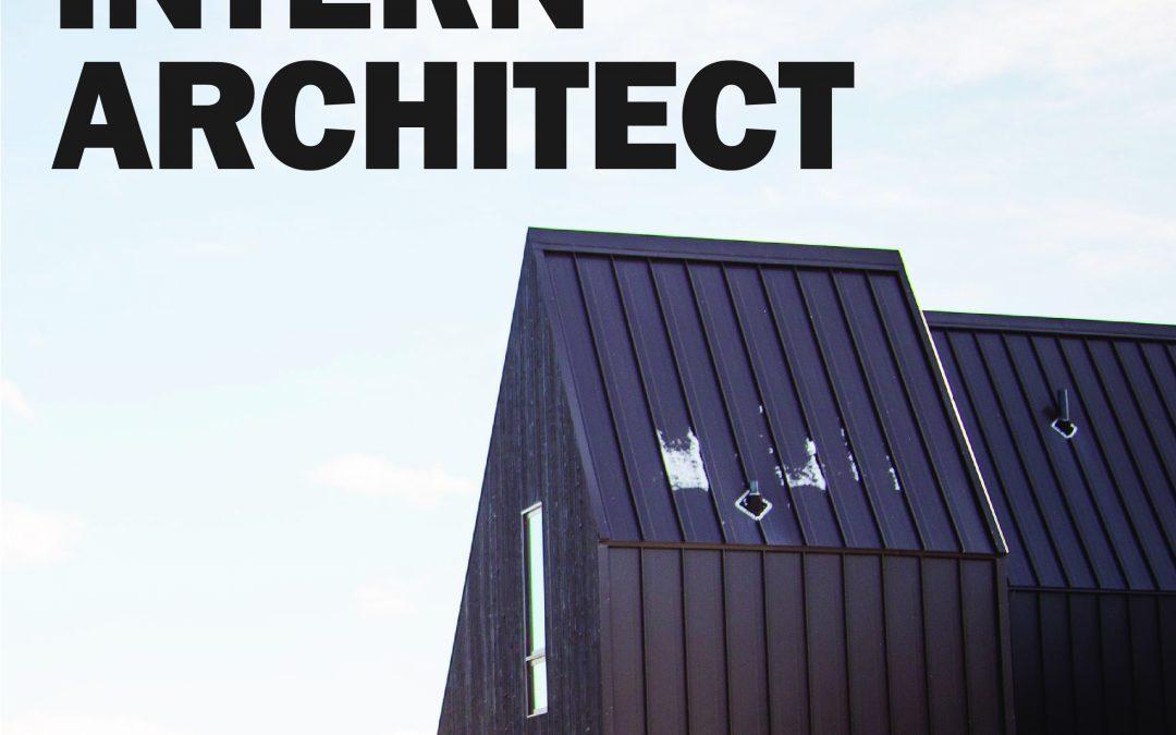 Hiring: Intern Architect